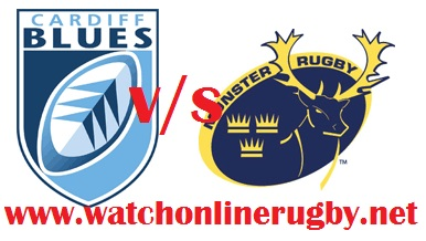 Cardiff Blues vs Munster live