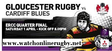 Cardiff Blues vs Gloucester Rugby live