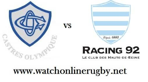 Castres Olympique vs Racing 92