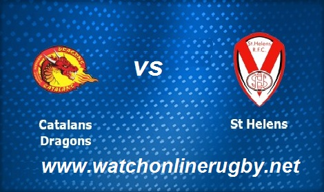 Catalans Dragons vs St Helens live