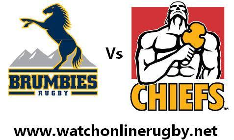 Chiefs vs Brumbies rugby live