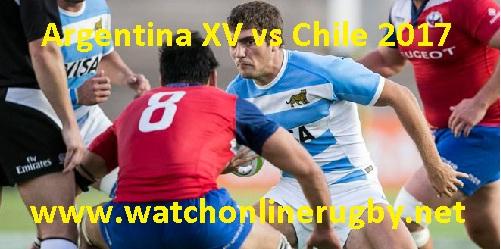 Chile vs Argentina XV live