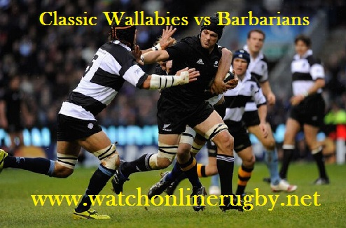Classic Wallabies vs Barbarians