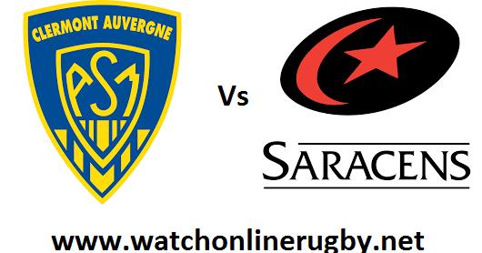 Clermont Auvergne vs Saracens live