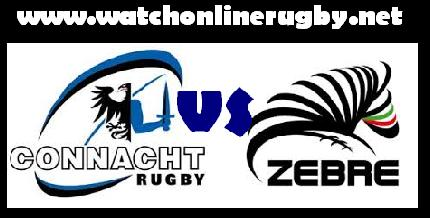 Connacht vs Zebre live