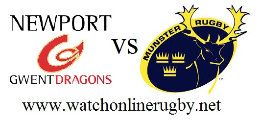 Dragons vs Munster