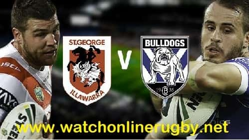 Dragons vs Bulldogs rugby live