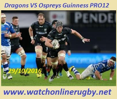 Dragons VS Ospreys