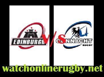 Connacht vs Edinburgh live