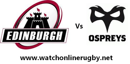 Edinburgh vs Ospreys