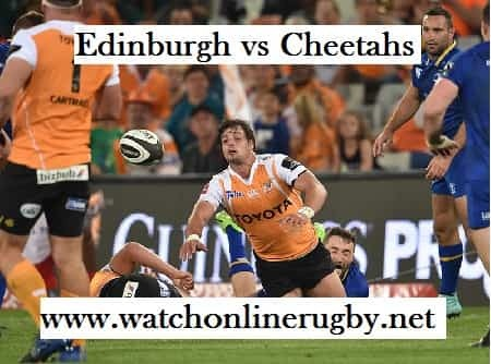 Edinburgh vs Cheetahs