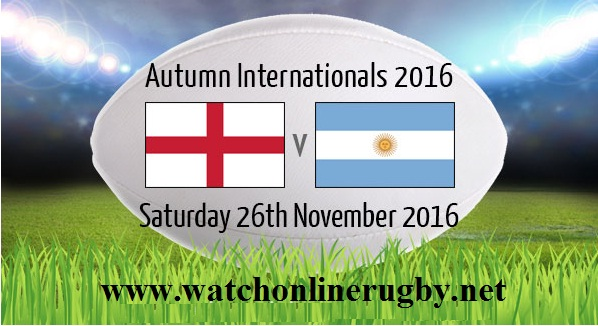England vs Argentina rugby live
