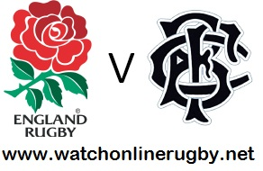 England vs Barbarians rugby live