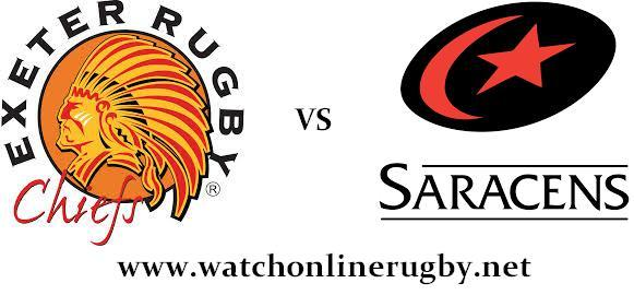 Exeter Chiefs vs Saracens rugby live
