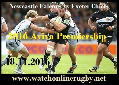 Newcastle Falcons vs Exeter Chiefs