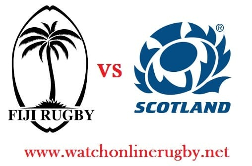 Scotland vs Fiji live rugby