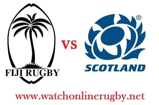 Fiji vs Scotland live