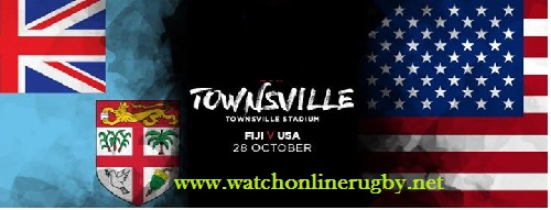 Fiji vs USA RLWC live