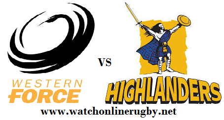 Highlanders vs Western Force live