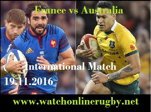 France vs Australia live online