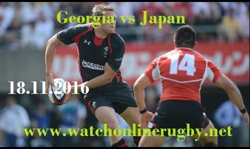 Georgia vs Japan