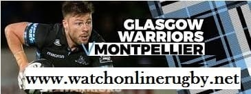 Glasgow Warriors vs Montpellier Herault