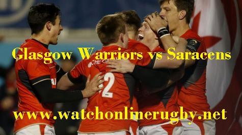 Glasgow Warriors vs Saracens live