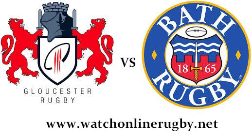 Gloucester Rugby vs Bath Rugby live