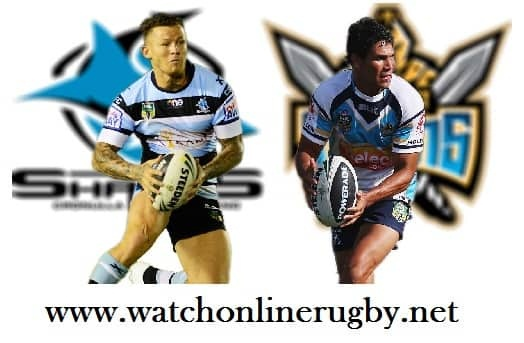 Gold Coast Titans vs Sharks rugby live