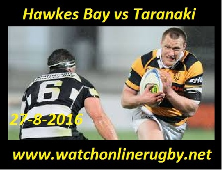 Hawkes Bay vs Taranaki