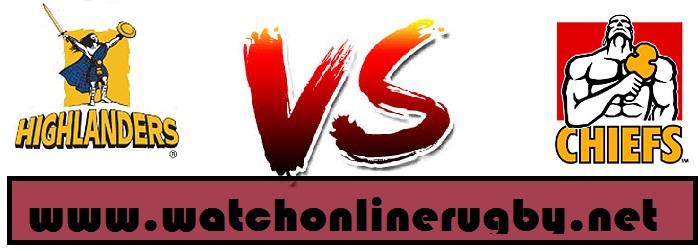 Highlanders vs chiefs live