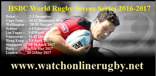 HSBC World Rugby Sevens Series live