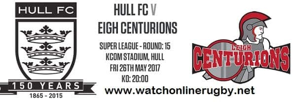 Hull FC vs Leigh Centurions rugby live