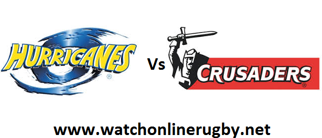 Hurricanes vs Crusaders rugby live