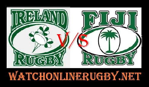 Ireland vs Fiji