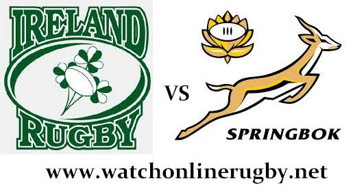 South Africa vs Ireland