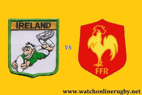 Ireland vs France live