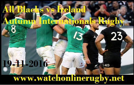 Ireland vs New Zealand live