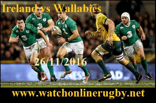 Ireland vs Wallabies live