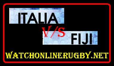 Italy vs Fiji live