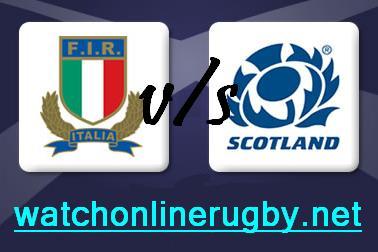 Scotland vs Italy HD live