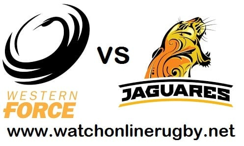 Jaguares vs Western Force live