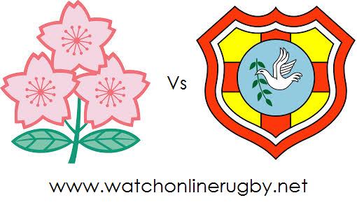 Japan vs Tonga