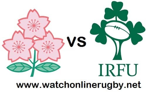 Japan vs Ireland live streaming