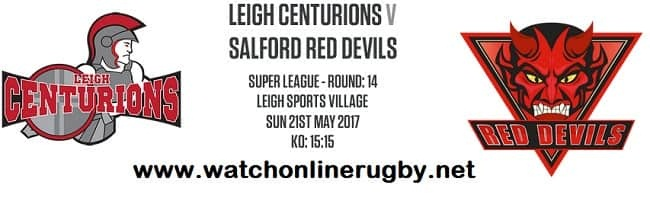 Leigh Centurions Vs Salford Red Devils live
