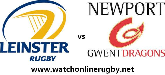 Leinster vs Dragons live