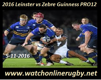 Leinster vs Zebre