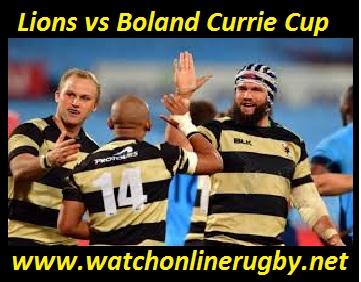Lions vs Boland