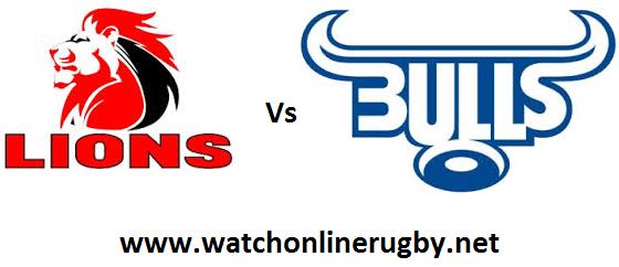 Lions vs Blue Bulls live