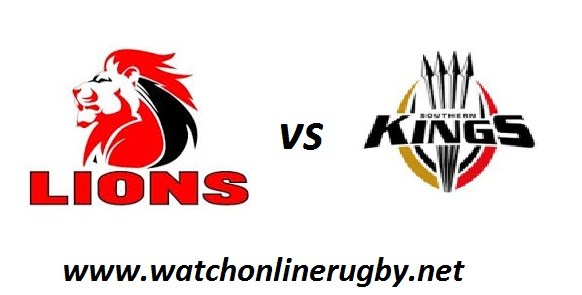 Kings vs Lions rugby live